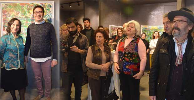 Zeliha Akçaoğlu ile renklere yolculuk Mart Sanat'ta