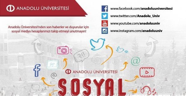 Anadolu Üniversitesi sosyal medyada zirvede