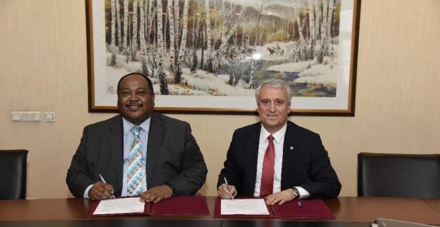 Anadolu Üniversitesi, Sudan Al-Neelain Üniversitesi ile iş birliği protokolü imzaladı