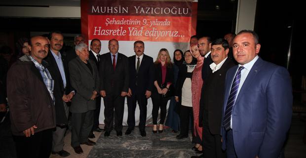 BBP Teşkilatı Yazıcıoğlu anma konferansına katıldı
