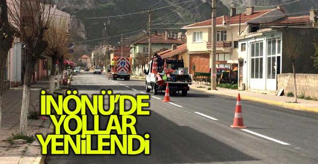 Büyükşehir Belediyesinin İnönü'ye yatırımları sürüyor