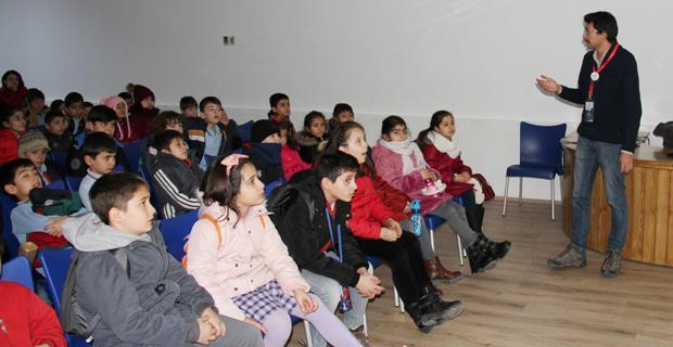 Çocuklara Eskişehir yaban hayatı eğitimi