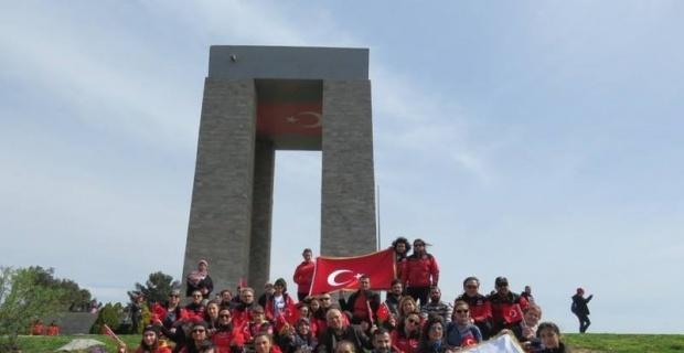 DAK gönüllülerinin Çanakkale ziyareti