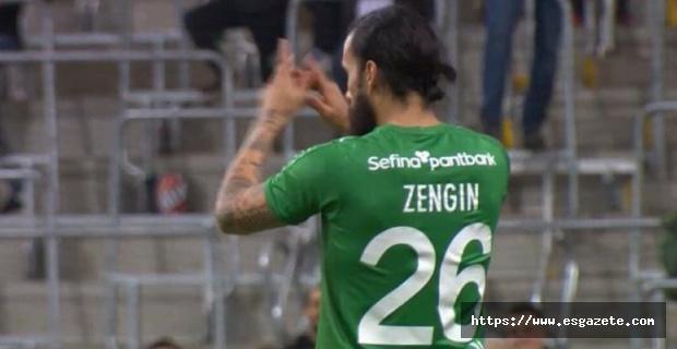 Erkan Zengin'in forma numarası dikkat çekti