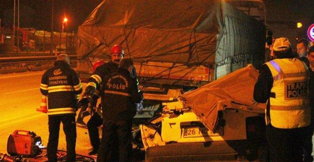 Eskişehir'de aşırı hız can aldı: 1 ölü