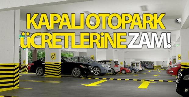 Eskişehir'de kapalı otopark ücretlerine zam