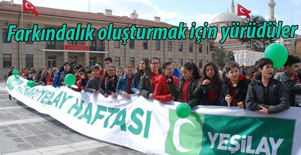 Eskişehir'de sağlıklı yürüyüş