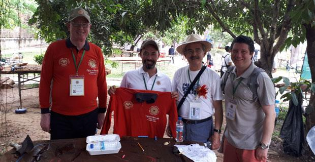 Eskişehirli sanatçı Kamboçya'da beğeni topladı