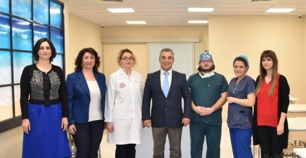 ESOGÜ Hastanesi'nde ameliyathane çalışanlarına özel yemekhane açıldı