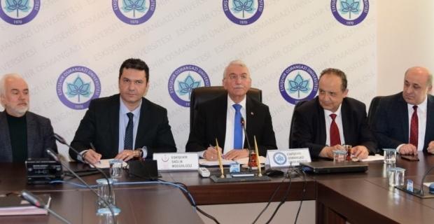 ESOGÜ ve Eskişehir İl Sağlık Müdürlüğü arasında işbirliği protokolleri imzalandı