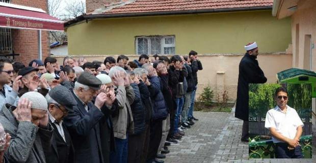 Feci kazada ölen Ahmet Civlez son yolculuğuna uğurlandı