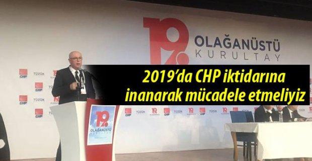 Kazım Kurt: CHP'nin iktidar olacağına inanmalıyız