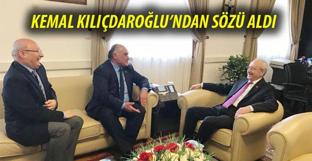 Kemal Kılıçdaroğlu ile görüştü