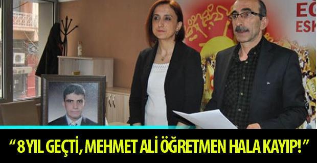 Mehmet Ali öğretmene ne oldu