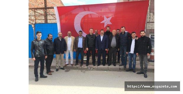 MHP Emek Teşkilatından Şehitlerimiz için mevlüd-i şerif