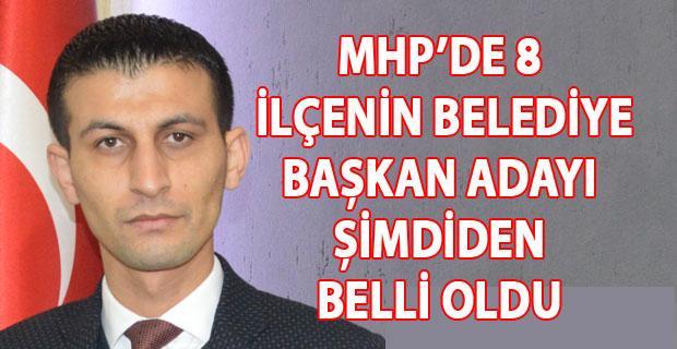 MHP, yerel seçimler için şimdiden kolları sıvadı