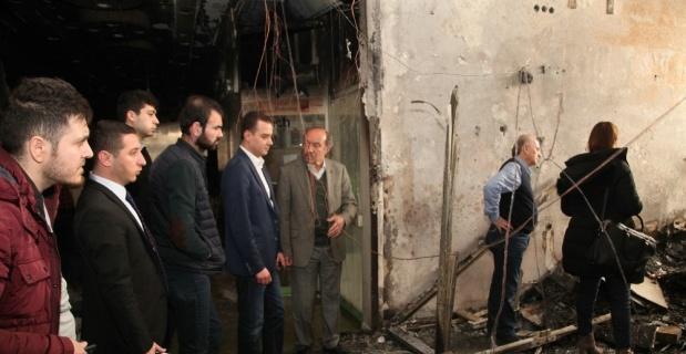 Odunpazarı Belediyesi'nden Esnaf Sarayı'na geçmiş olsun ziyareti