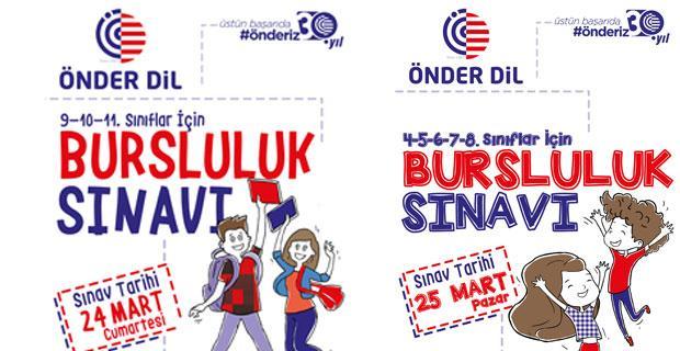 Önder Dil'de Ücretsiz Bursluluk Sınavı