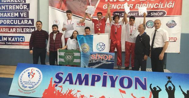 Şampiyonlar Gökmeydan Spor Kulübünden
