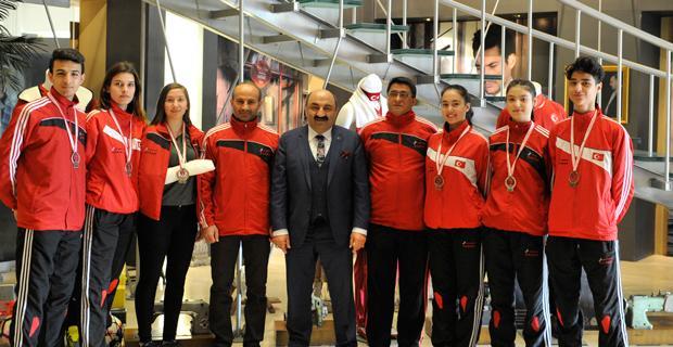 Sarar Spor'lu sporcuların başarısı