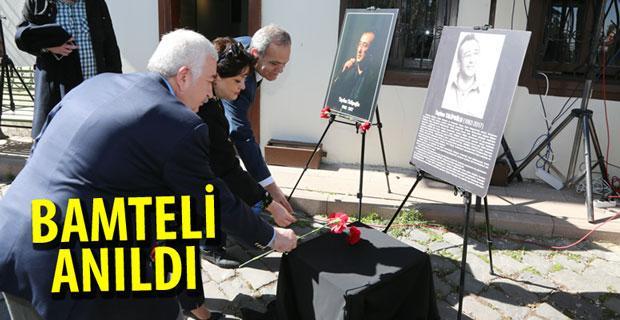 Tayfun Talipoğlu'nu andı