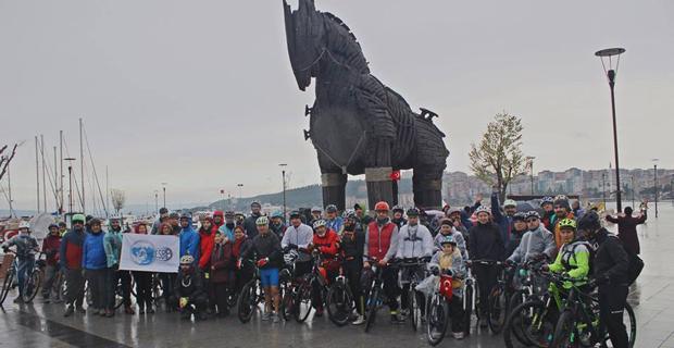 VelESBİD Çanakkale Bisiklet Festivali'ne katıldı