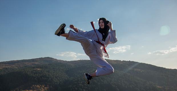 Zeynep'in hedefi Dünya Şampiyonluğu