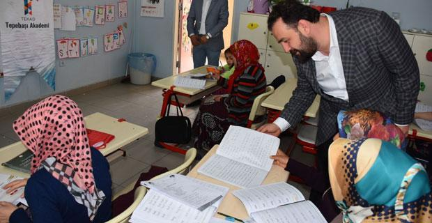 7 kursta 167 öğrenciye eğitim