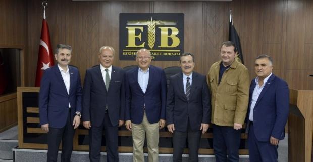 Başkan Ataç'tan Zeydan'a hayırlı olsun ziyareti