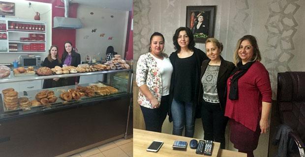Başkan Yalçın'dan kadın girişimcilere ziyaret