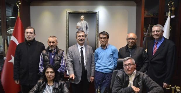 Bendensel engellilerden Başkan Ataç'a ziyaret