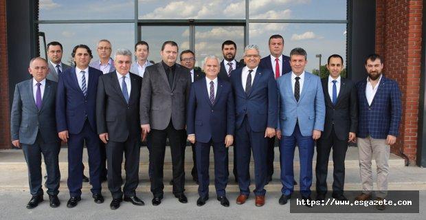 EOSB – ETO Ortak Projelerle İşbirliğinde Buluşuyor