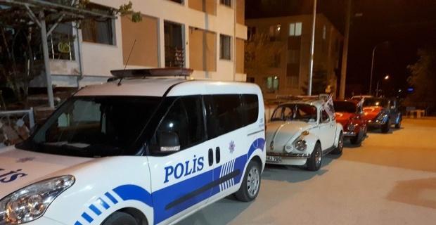 Görevi başındaki polislere sürpriz ziyaret