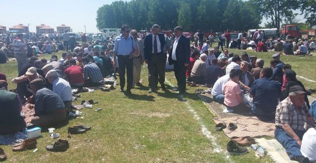 İYİ Partililer Muttalip'te yağmur duasına katıldı