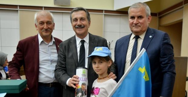 Kırım Türkü çocuklardan Ataç'a ziyaret