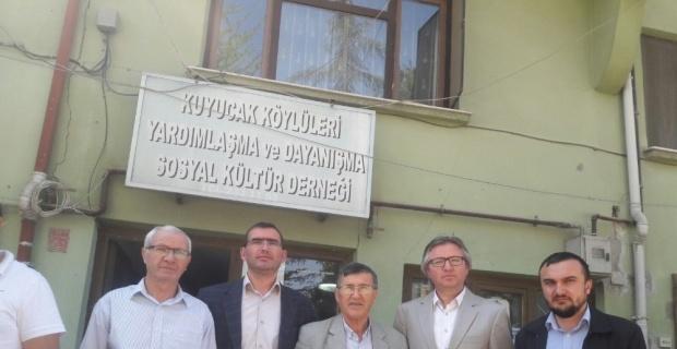 Kuyucak Köyü Sosyal Yardımlaşma Derneği genel kurul yaptı