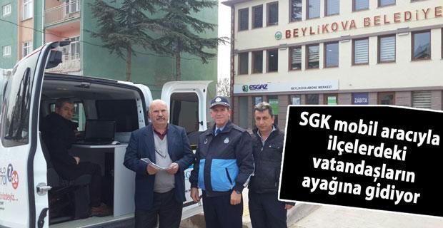 SGK mobil aracı ilçelerde