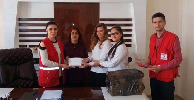 Süleyman Çakır Lisesi'nden Afrin'deki askerlere  yardım kampanyası