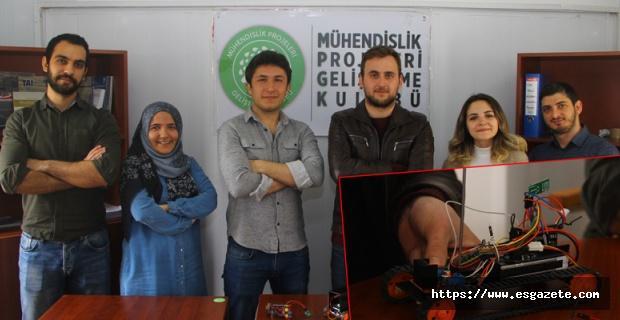 Türkiye'ye satılmayan robotu 600 liraya ürettiler