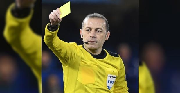 UEFA'dan Cüneyt Çakır'a dev görev