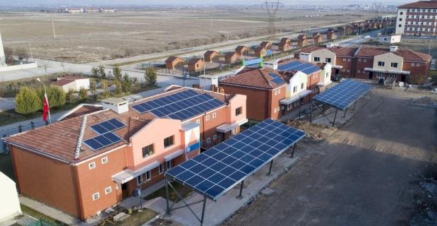 Yaşam Köyü'ne Güneş Enerji Santrali kuruldu
