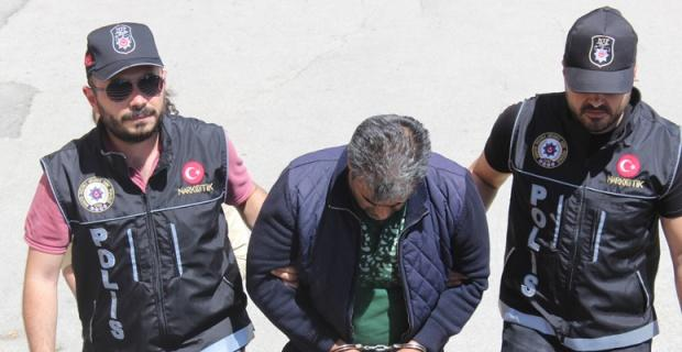 Zehir taciri İran uyruklu şahıs yakalandı