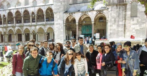 Görme ve işitme engellilerden İstanbul gezisi
