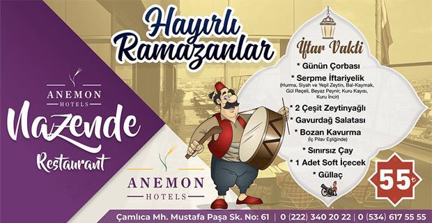 İftar yemeklerinin yeni adresi: Nazende Restorant