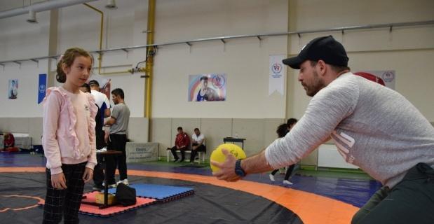 Sportif yetenek taraması Eskişehir'de başladı