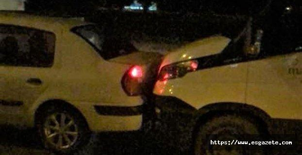 Zincirleme kazada 4 kişi yaralandı