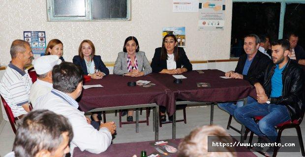 CHP adayları Eskişehir'i karış karış dolaşıyor