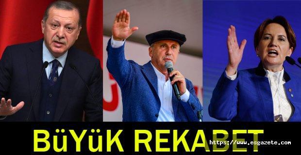 Esgazete anketinde Erdoğan ile ince başa baş gidiyor