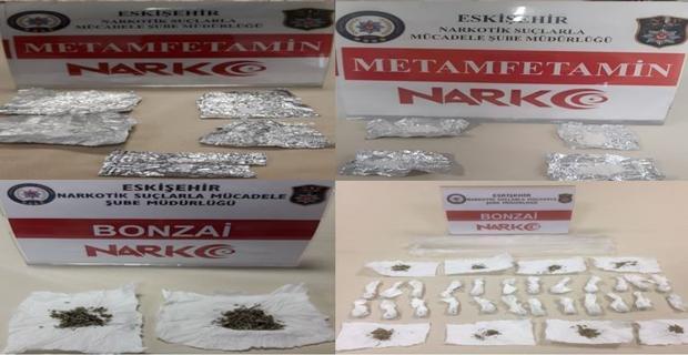 Eskişehir'de uyuşturucu operasyonu