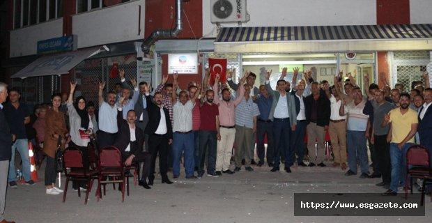 MHP Milletvekili Adayları Ağaçhisarlılar Dernek ziyareti